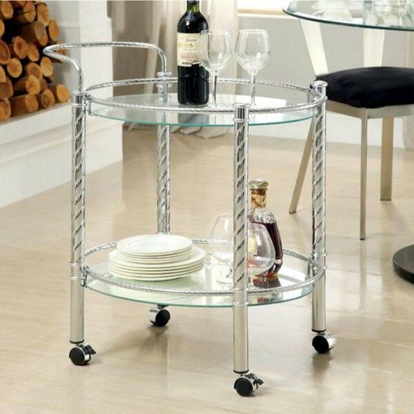 Cantu Serving Bar Cart by Orren Ellis