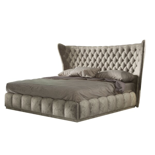 Longville Bedroom Queen Upholstered Platform Bed by Mercer41