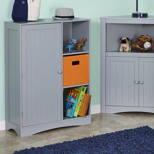 RiverRidge Single Door, 3-Cubby Toy Organizer by RiverRidge Home