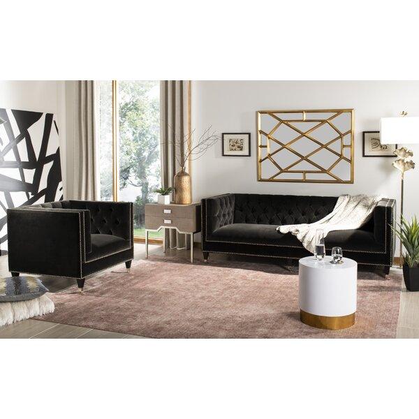 Folcroft Tufted Velvet Configurable Living Room Set by Everly Quinn
