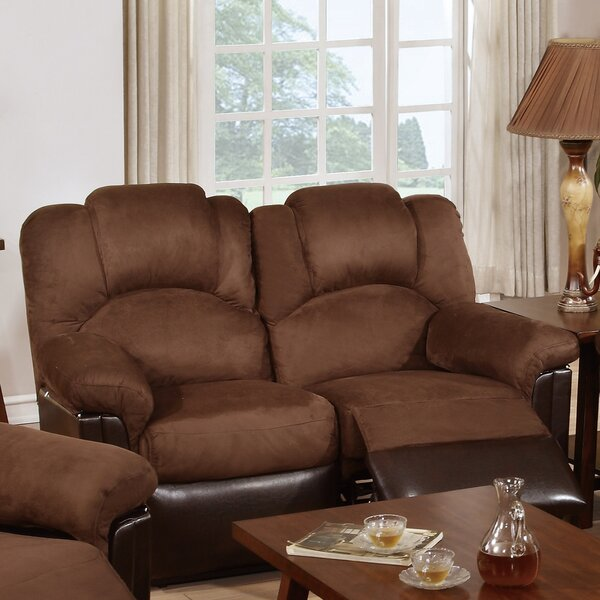 Online Shopping Ethan Reclining Loveseat by Infini Furnishings by Infini Furnishings