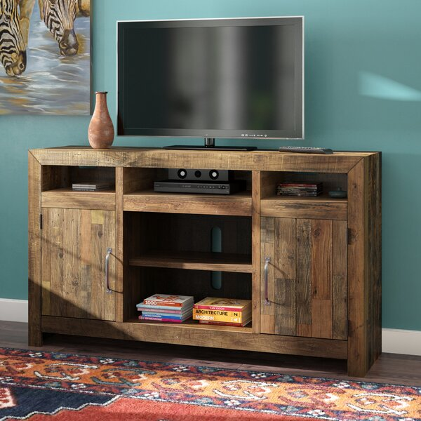 Gino Solid Wood TV Stand For TVs Up To 62 Inches By Mistana