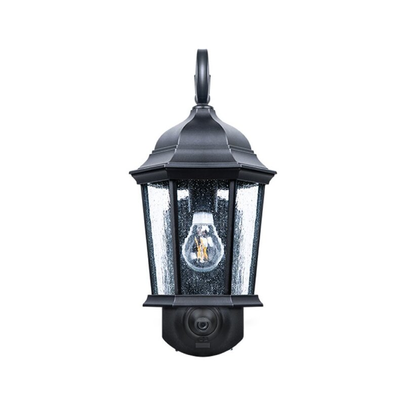 Outdoor Security Lights With Camera Fleur de lis living hodgkins security camera outdoor wall lantern hodgkins security camera outdoor wall lantern workwithnaturefo