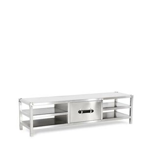 Elwood Stainless Steel 60 TV Stand