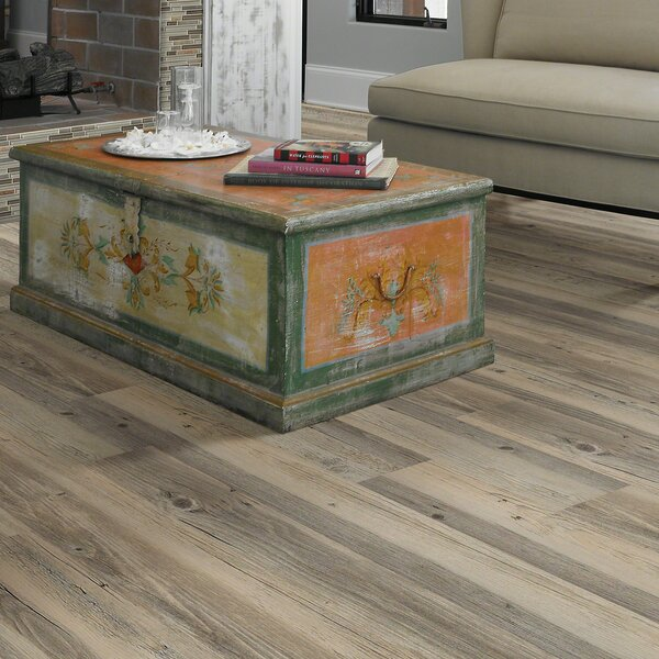 Arlington 6 x 48 x 2mm Luxury Vinyl Plank in Gray/Light Brown by Shaw Floors