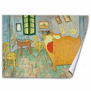 Van Gogh's Bedroom at Arles by Vincent van Gogh Painting Print on Wrapped Canvas by Trademark Fine Art