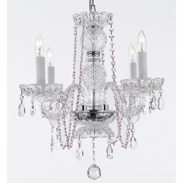 Kennemer 4 - Light Candle Style Classic / Traditional Chandelier By House Of Hampton