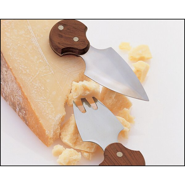 Kinston 2 Piece Cheese Knife Set by Mint Pantry