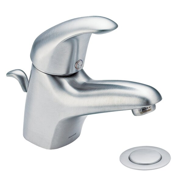 M-Dura Single Hole Bathroom Faucet by Moen