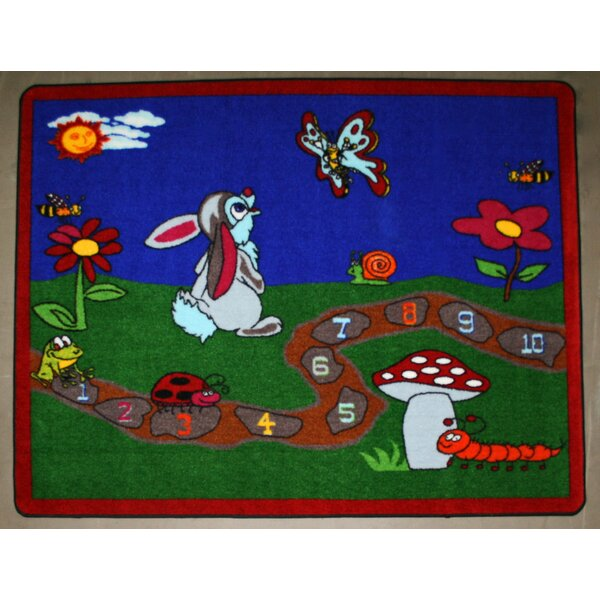 Spring Day Area Rug by Kids World Carpets