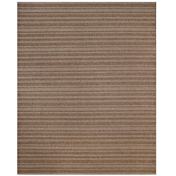 Amory Chestnut Indoor/Outdoor Area Rug by Gracie Oaks