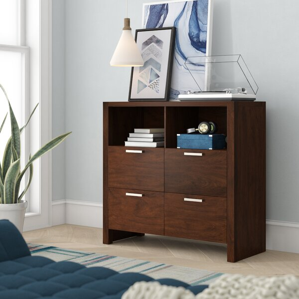 Discount Ayaan Media 4 Drawer Chest