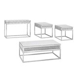 Verlin 4 Piece Coffee Table Set by Everly Quinn