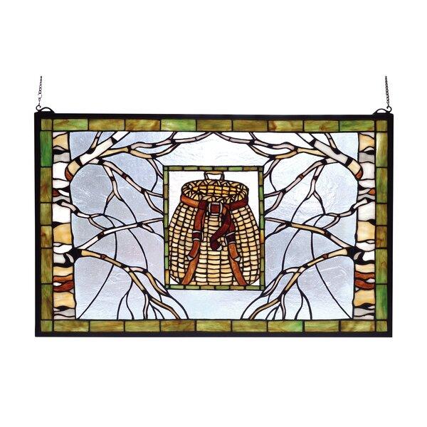 Pack Basket Stained Glass Window by Meyda Tiffany