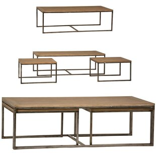 Dekalb 3 Piece Coffee Table Set Foundry Select