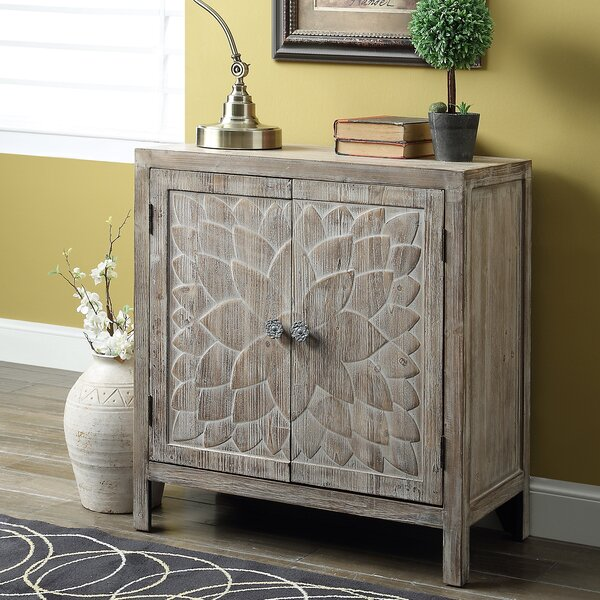 Compare prices Ambriz 2 Door Accent Cabinet by Bungalow Rose