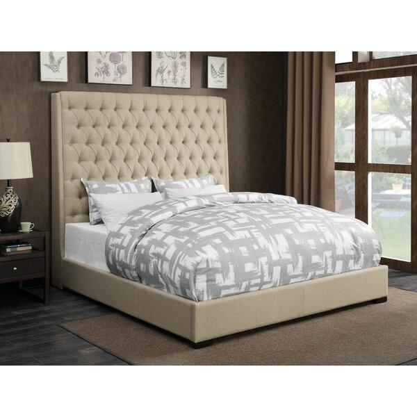 Jarratt Upholstered Standard Bed by Greyleigh
