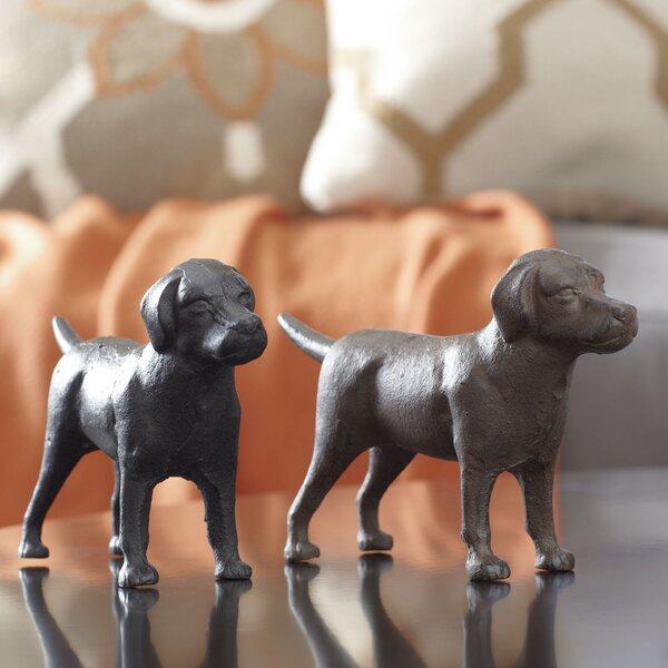 Labrador Pals Decor 2 Piece Fingurine Set by Birch Lane™