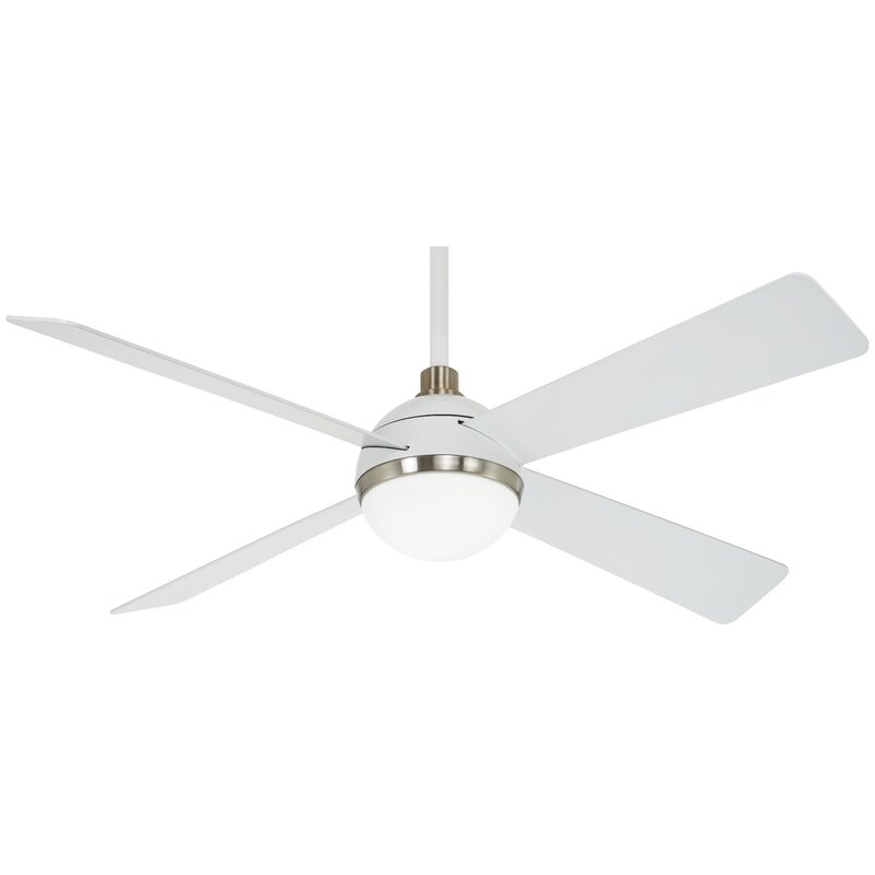Minka Aire 54 Orb 4 Blade Led Ceiling