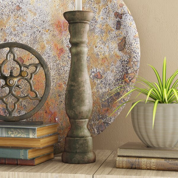 Cement Candlestick by Trent Austin Design