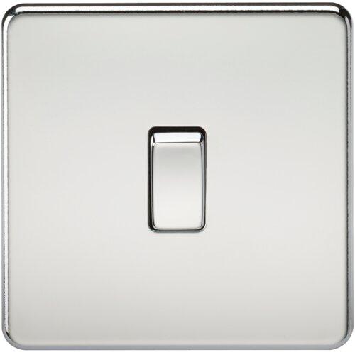 Wandmontierter Zwischenlichtschalter 10A 1G ClearAmbient Ausführung: Chrom | Baumarkt > Elektroinstallation > Lichtschalter | ClearAmbient