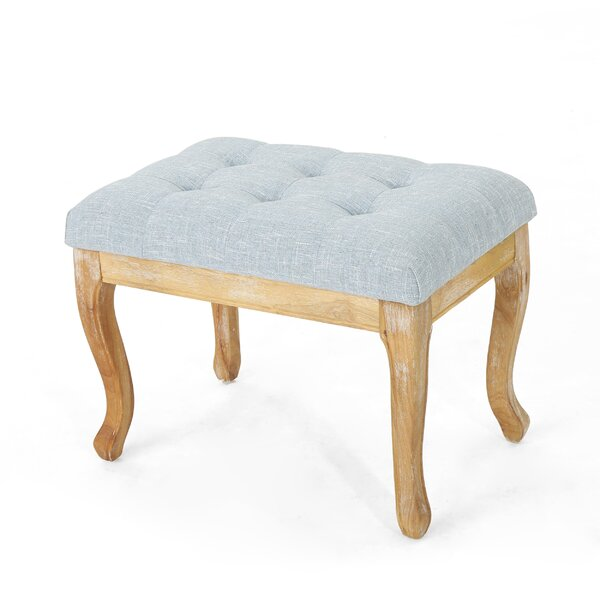 Grange Tufted Ottoman by Charlton Home