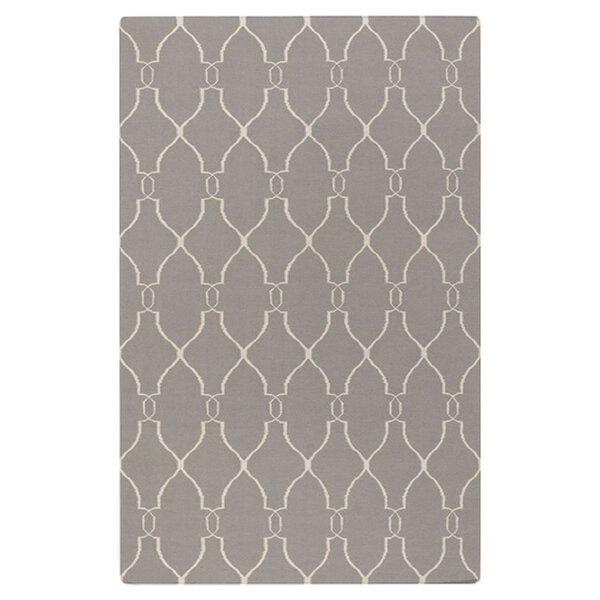 Hand Woven Taupe Rug by Surya