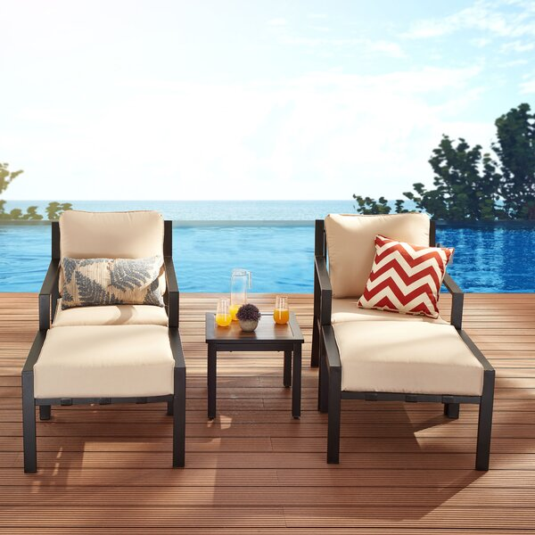 Ashima 5 Piece Seating Group with Cushions by Red Barrel Studio Red Barrel Studio