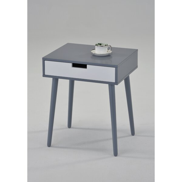 Guitierrez End Table with Storage by George Oliver