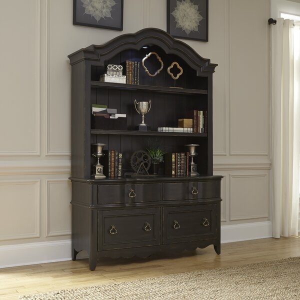 Rojas Credenza Desk with Hutch by Birch Lane™