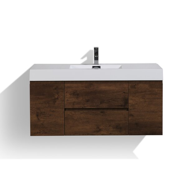 Sinope 47 Single Bathroom Vanity Set by Orren Elli