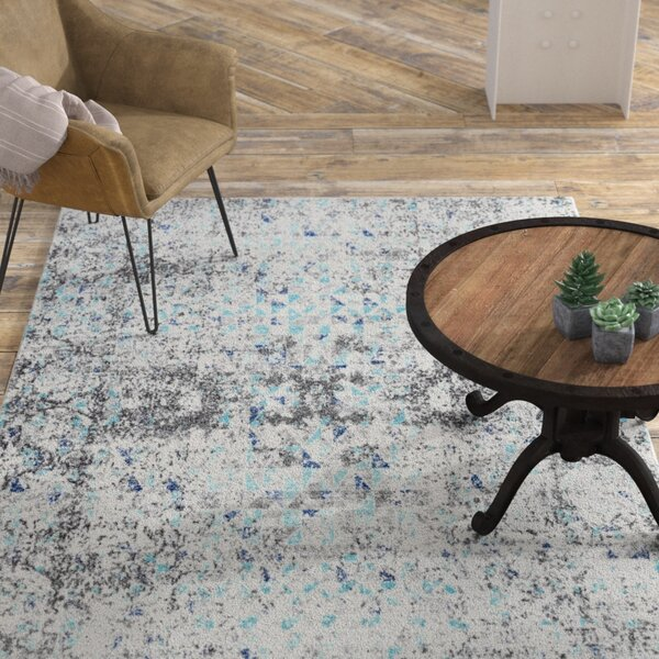 Katerine Blue Area Rug by Williston Forge