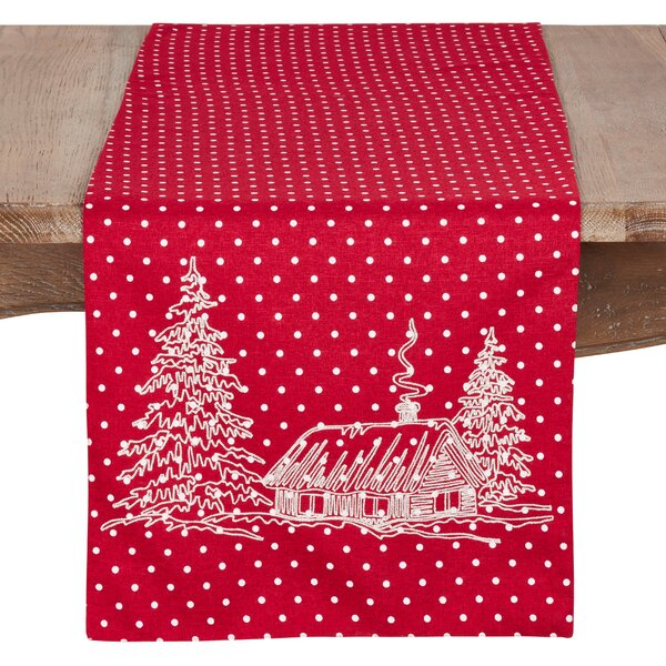 Battle Holiday Cottage Table Runner by The Holiday Aisle