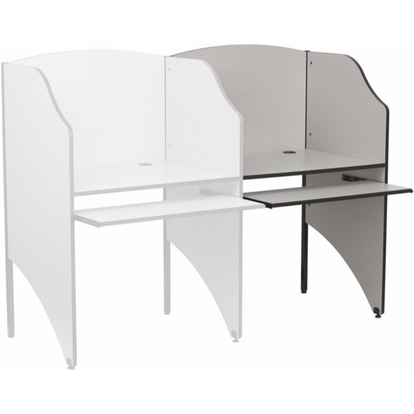Metal 49.63 Study Carrel by Offex