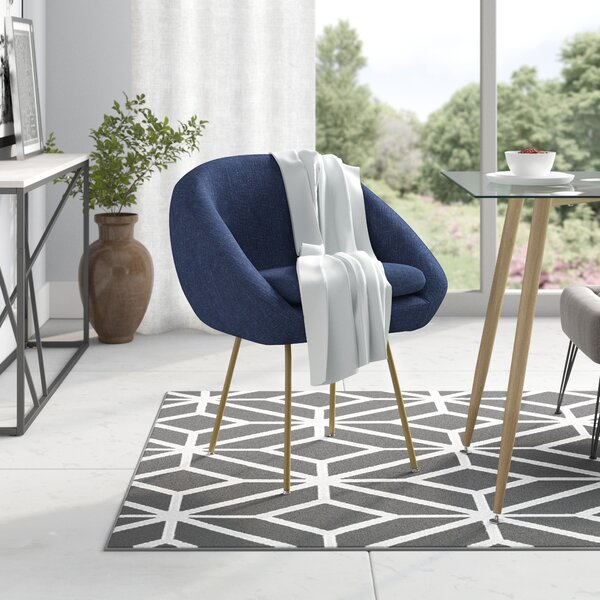 Arpin Upholstered Dining Chair by Wrought Studio