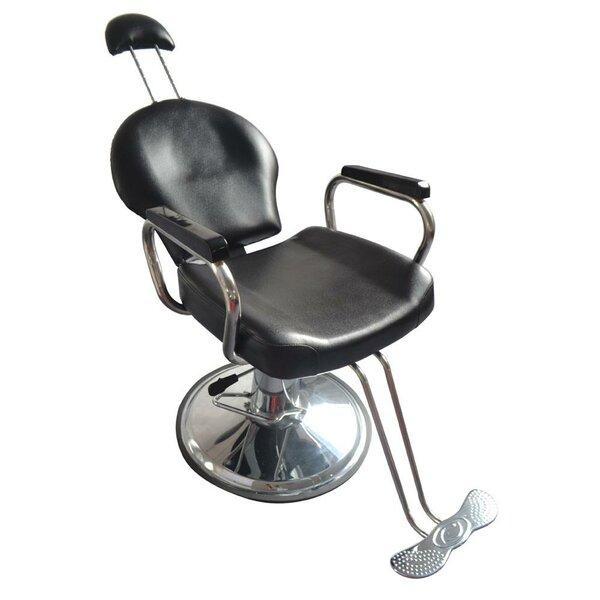 Barber Shampoo Salon Reclining Massage Chair By Ebern Designs