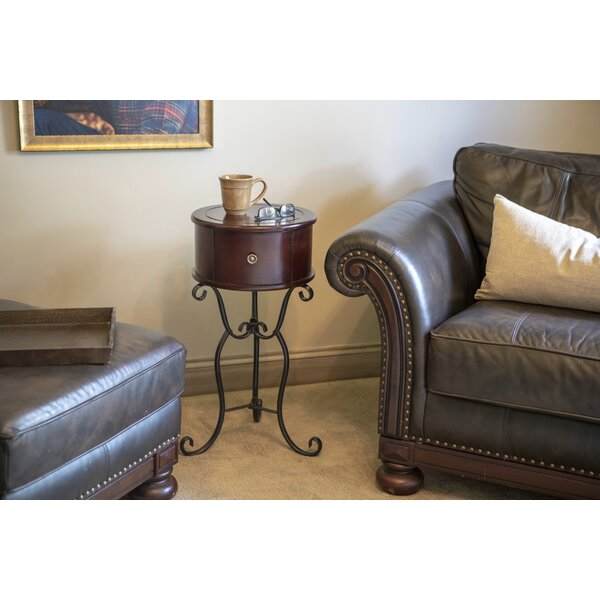 Dulvert End Table by Fleur De Lis Living