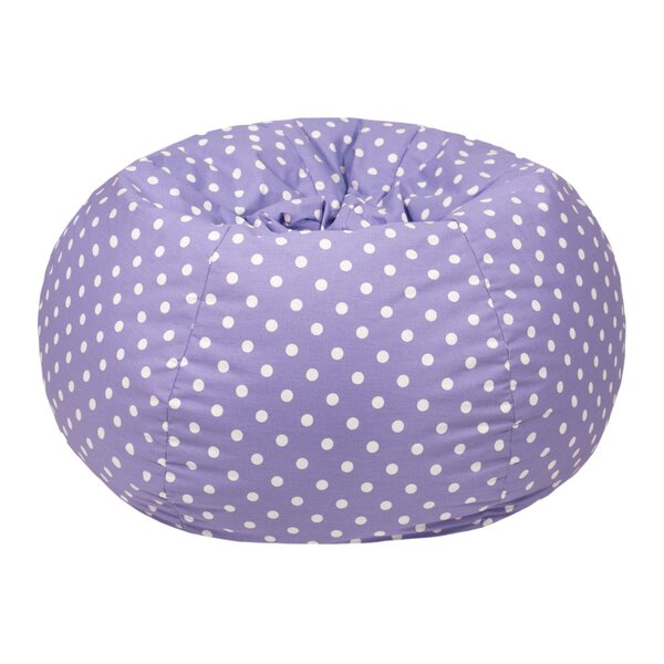 Polka Dot Bean Bag Chair by Gold Medal Bean Bags