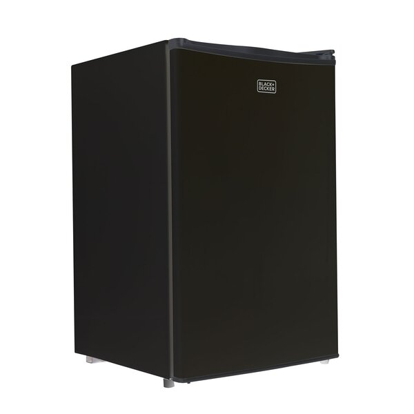 4.3 cu. ft. Compact Refrigerator with Freezer by Black + Decker