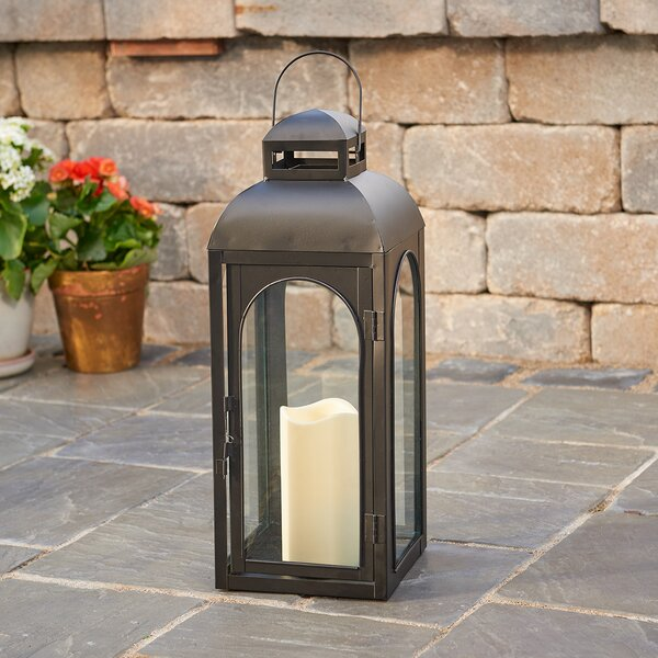 Moreno Lantern with LED Candle by Smart Living
