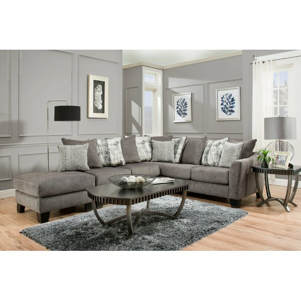 Read Reviews Herold Left Hand Facing Sectional Ottoman
