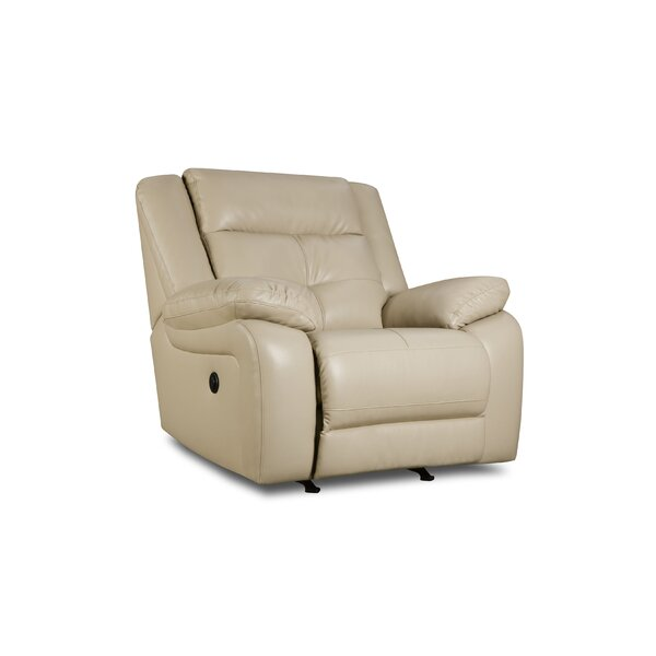 simmons leather recliner. darby home co obryan recliner by simmons upholstery \u0026 reviews | wayfair leather
