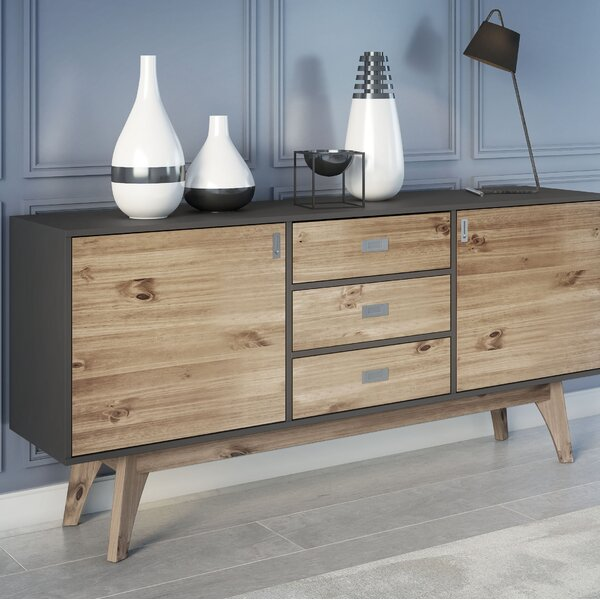 Tebikerei 3 Drawer Sideboard by Union Rustic