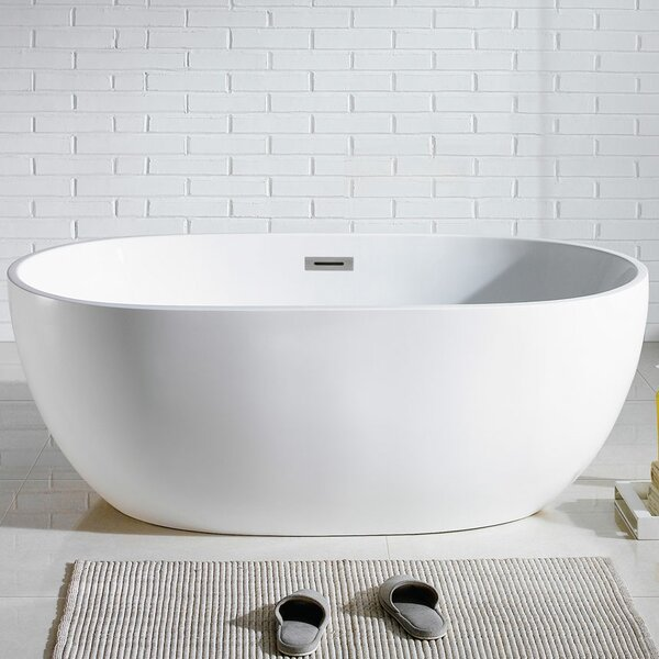 Tropicana 60 x 30 Soaking Bathtub by Pacific Collection