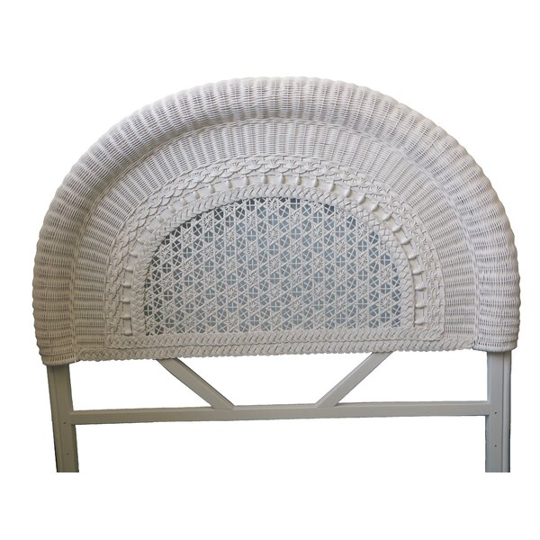 Wicker Panel Headboard by Yesteryear Wicker