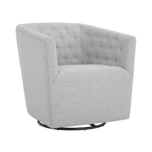 Taro Swivel Armchair by Brayden Studio Brayden Studio