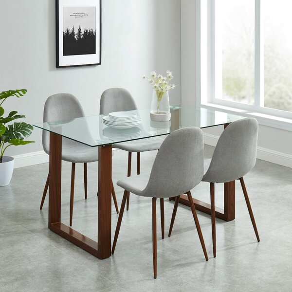 Waycross Contemporary 5 Piece Dining Set By Langley Street™