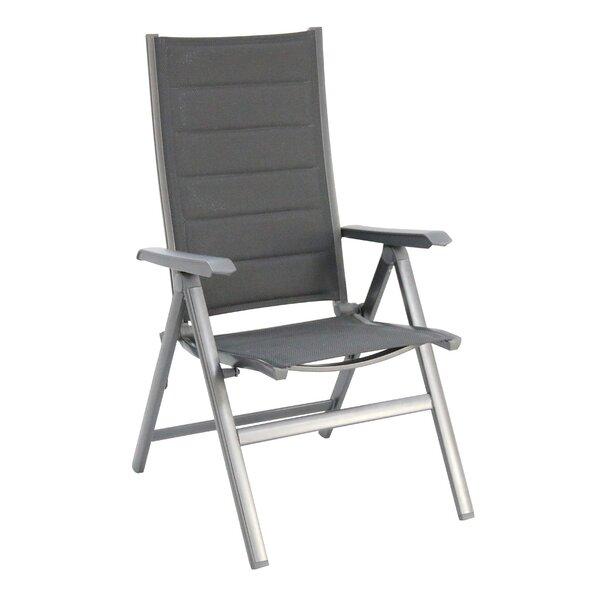 Cultrera Folding Patio Dining Chair (Set of 2) by Orren Ellis Orren Ellis