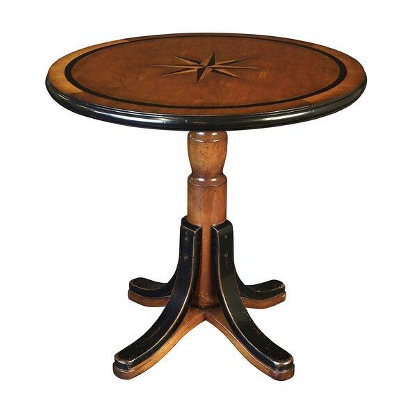 Schuster Pedestal Coffee Table By Breakwater Bay