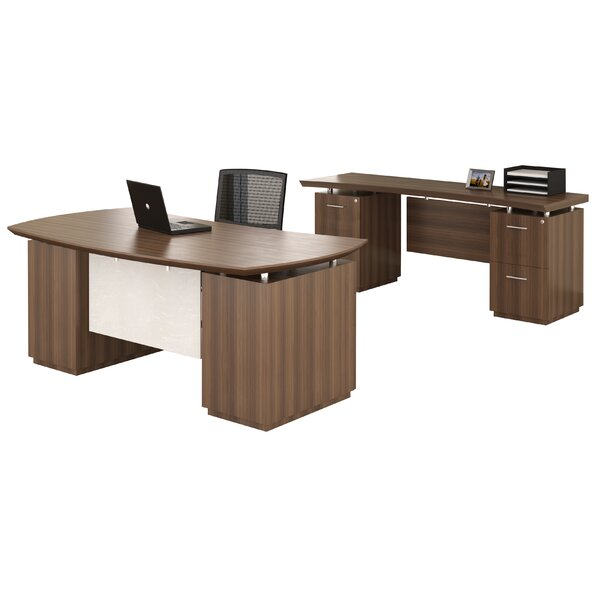 Sterling Executive Desk by Mayline Group
